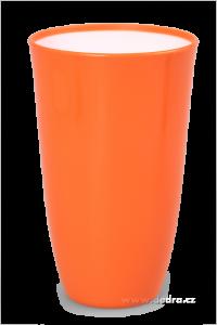 Plastový kelímek 600 ml, oranžový