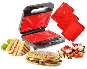 4v1 GRIFLOVAČ SYSTEMAT,sendvičovač vaflovač, gril, panini