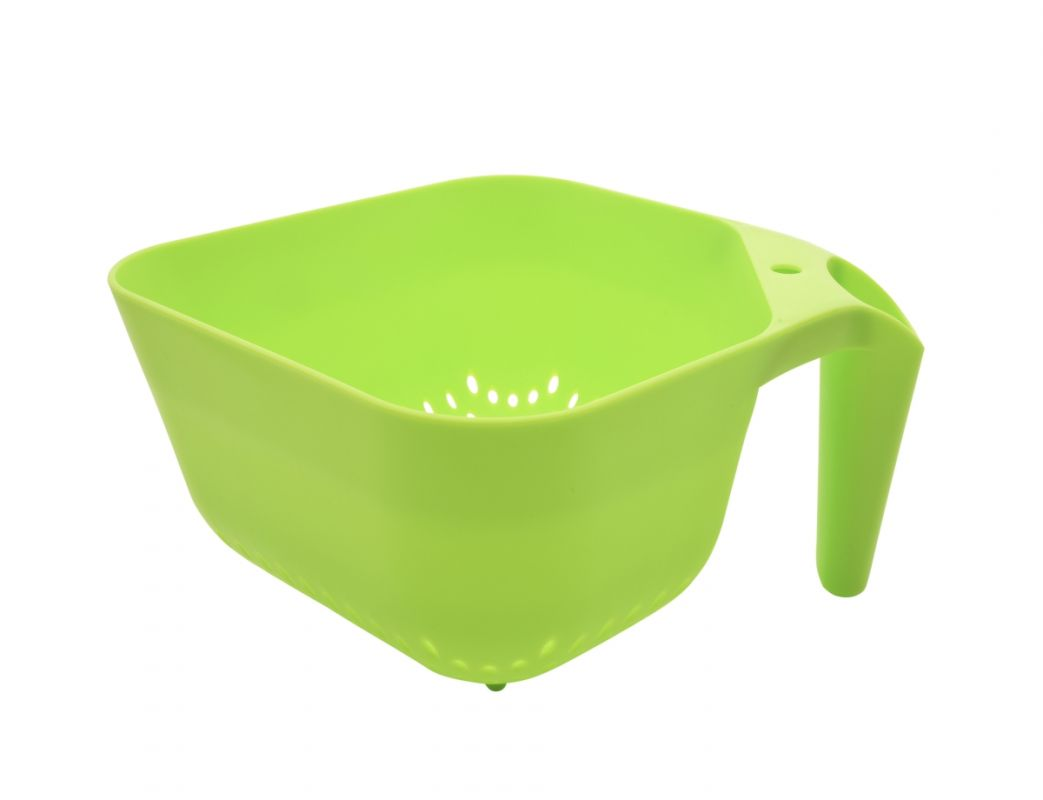 XXL SQUARE CEDNÍK z pevného plastu zelený