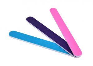 3 ks smirkový pilník na nehty oboustranný