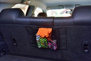 Elastická síťovaná kapsa do auta na suché zipy