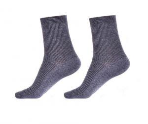 Komfortní zdravotní ponožky, šedé