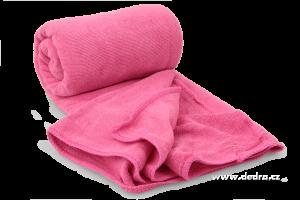 XXL ultrasavá podložka/ručník fuchsiová