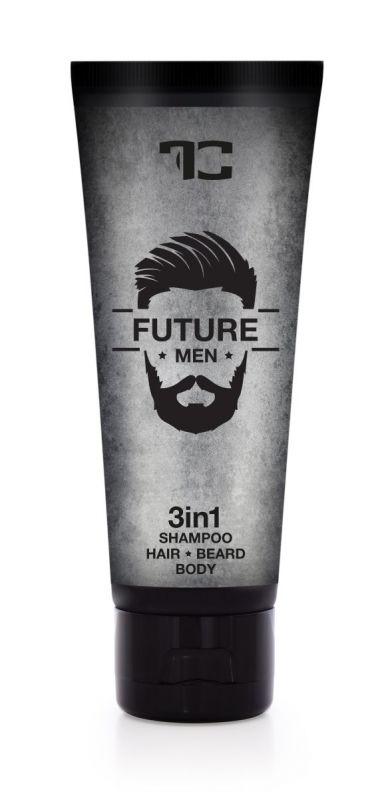 3v1 šampon pro muže na vlasy, tělo a vousy FUTURE MEN