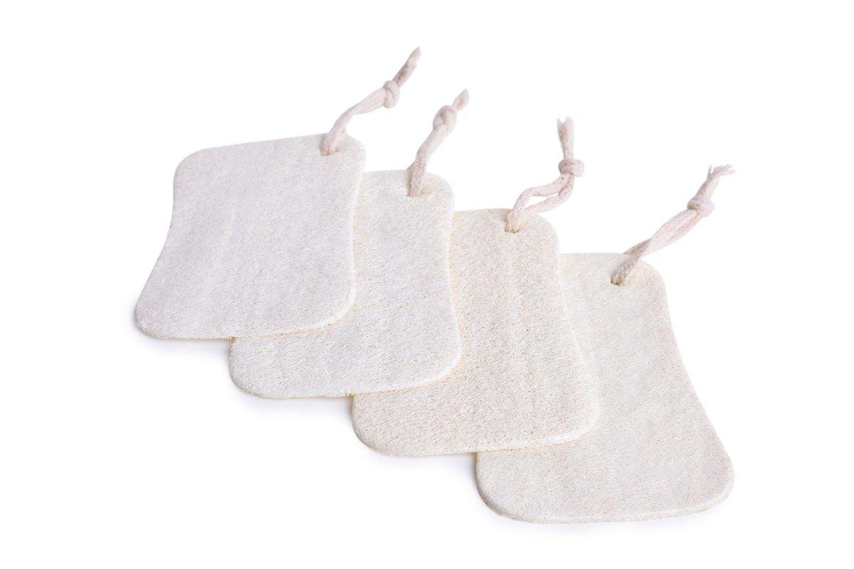 4 ks LUFA přírodní mycí houba GoEco®