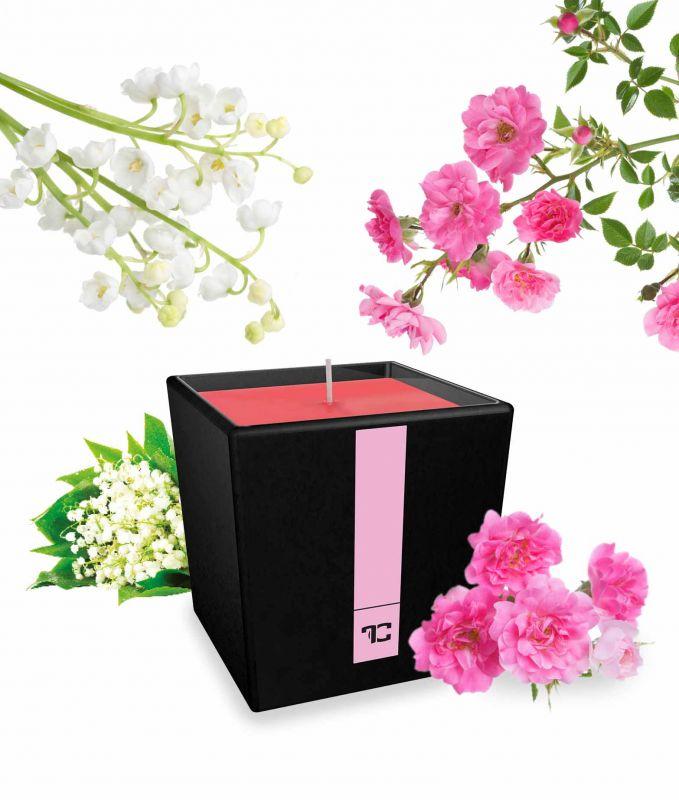 Parfumia svíčka flower garden