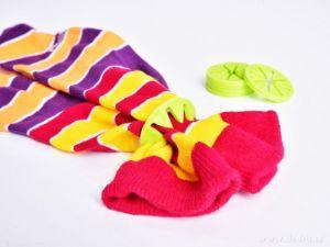 10 ks prstýnek na párování ponožek do pračky