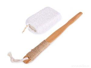 FROTÉ HOUBA na mytí s odnímatelnou rukojetí z bambusu GoEco®