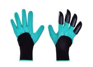 HRABAVICE, pracovní rukavice se 4 DRÁPY z pevného plastu