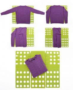 Deska na skládání prádla s nastavitelnou výškou