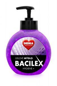 Gelové mýdlo BACILEX HYGIENE+ s antimikrobiální přísadou, 500 ml