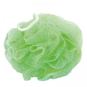 Mycí puff zelený průměr cca 12 cm