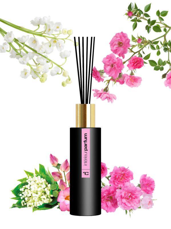 Interiérový parfém konvalinka, růže 80 ml