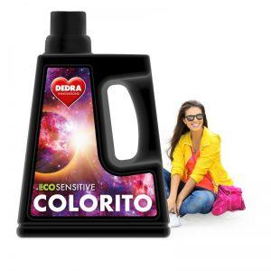 EKO prací gel na barevné prádlo, COLORITO ECOSENSITIVE