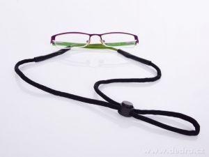 ŠŇŮRKOBRÝLKA šňůrka na brýle s gumovým zakončením