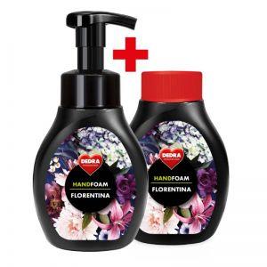 1+1 SADA pěnové mýdlo na ruce i tělo FLORENTINA
