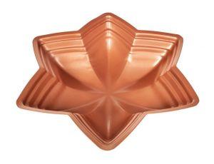 Pečící forma HVĚZDA, průměr 32 cm, BIOPAN® GOLD