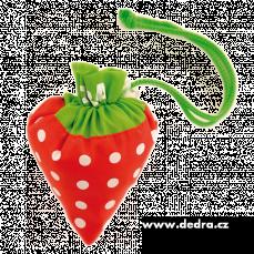 Nákupní taška v jahodě, 40 cm x 42 cm