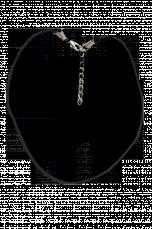 Kůže na krk k zavěšení přívěšků Nast. délka 47-51 cm