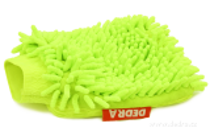 Čistící rukavice jasně zelená