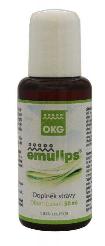 Emulips - doplněk stravy pro optimální trávení tuků 50 ml OKG