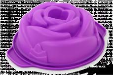 RůŽE silikonová forma na bábovku