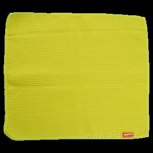 Utěrka z vaflového mikrovlákna jasně zelená
