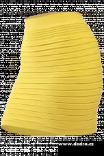 Marianne 2v1 minisukně nebo top žlutá