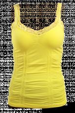 MAUVE žluté tílko/top
