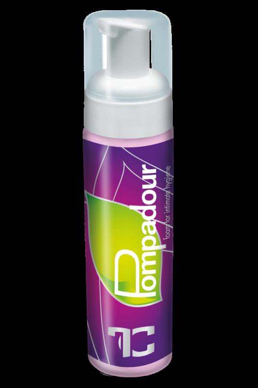 POMPADOUR pěna pro intimní hygienu 200 ml