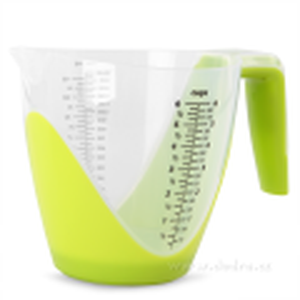 Digitální váha s odměrnou nádobou 1800 ml, zelená