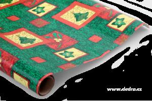 Vánoční balicí papír zelený