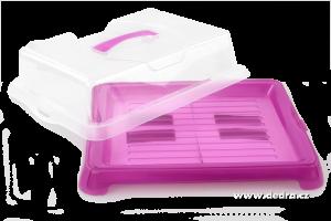 XXL vodnesfšecko s chladící patronou fialový