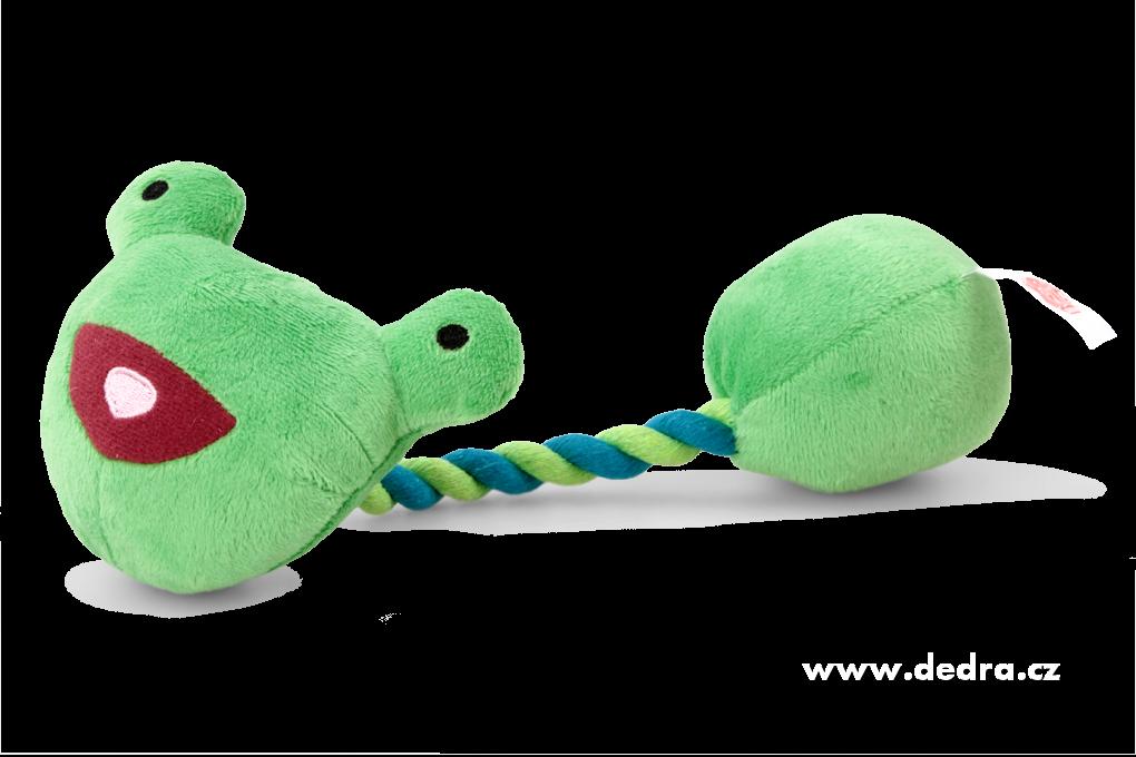 Kousadlo/házedlo ŽABÁK hračka pro domácího mazlíčka