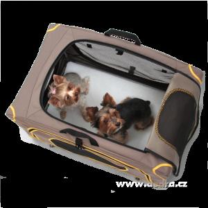 XL PŘEPRAVNÍ BOX na přepravu mazlíčků