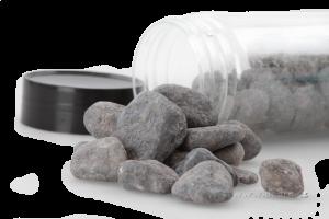 Dekorativní kameny větší oblázky šedé
