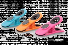 3 ks barevné klipsy s magnetem