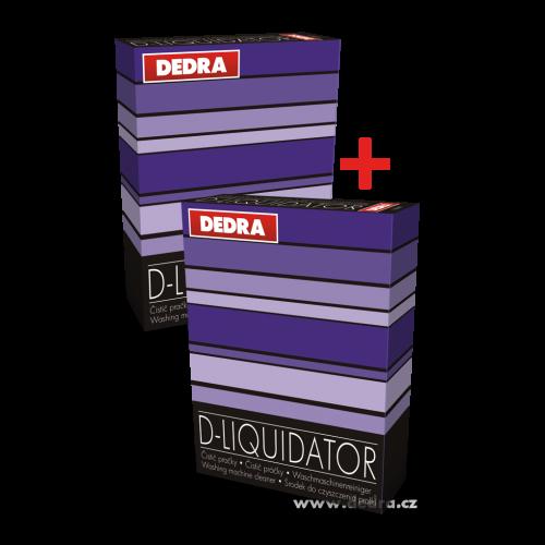 D-Liquidator čistič pračky 200g + 200g