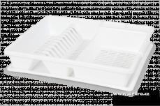 Odkapátor bílý odkapávač na nádobí