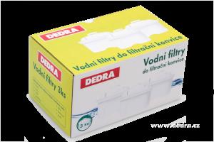 Sada 3 ks vodních filtrů do filtrační konvice