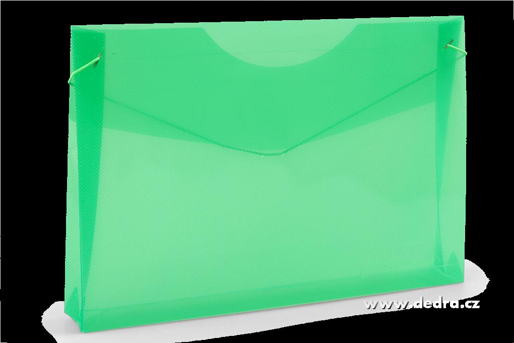 Spisové desky z průhledného plastu mentolové