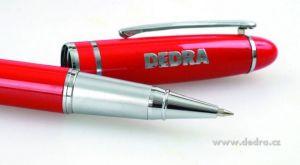 """1ks kuličkové pero s logem """"DEDRA"""" v dárkové krabičce"""