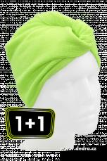 Turban na vysoušení vlasů z mikrovlákna 2 ks v balení!