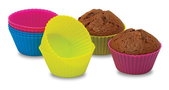 Silikonové formičky na muffiny