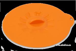 FCUCPOKLICE 21 cm silikonová poklice oranžová
