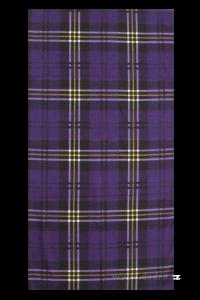 Multifunkční šátek kostkovaný s motivem pr.:45-70cm,d.:50cm