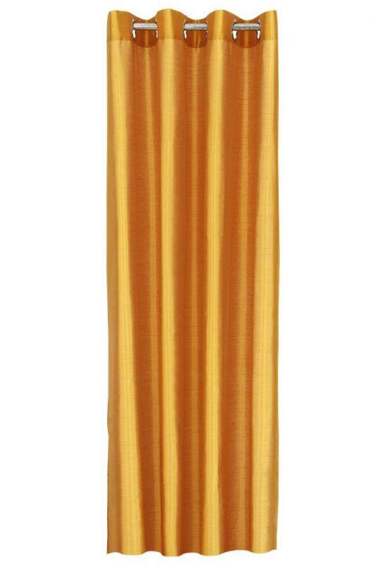 Závěs z neprůhledné tkaniny pomerančový