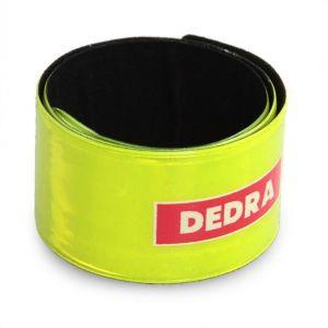 Bezpečnostní reflexní páska DEDRA svítivě zelená