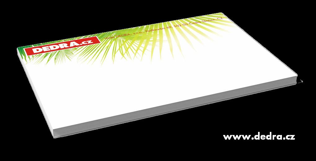 Velký samolepící blok - 100 listů 15,2 cm x 10 cm