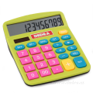 Kalkulačka pro REBELY barevná